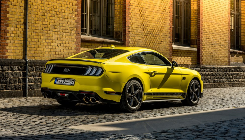 2021 Ford Mustang Mach 1 Sound